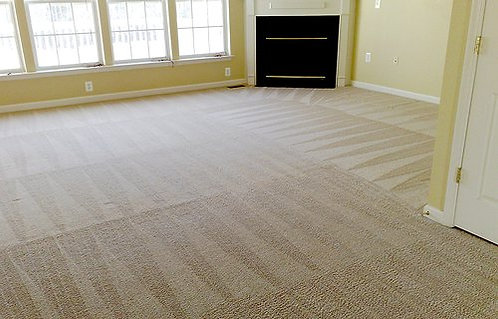 7 Area and 1 Hall Carpet Cleaning with DEO