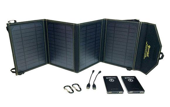 SunJack 20W+2x8000mAh Battery