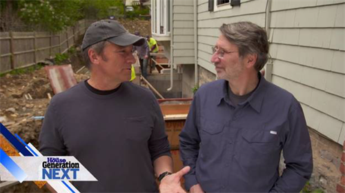Mike Rowe and Norm Abram talking