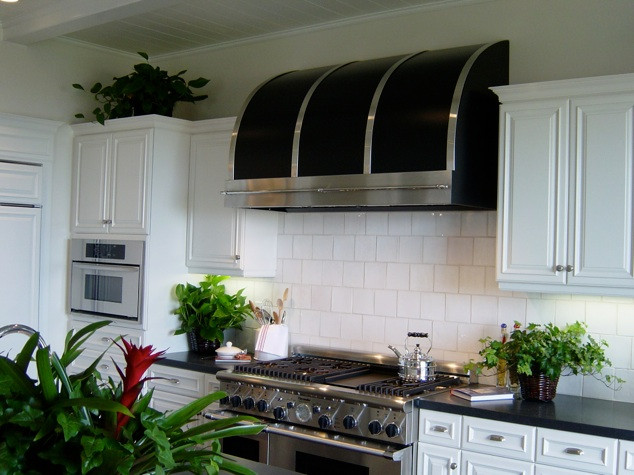 Modern-Aire ventilating hood for kitchen