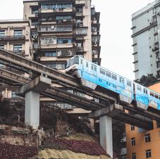 重慶の街巡り