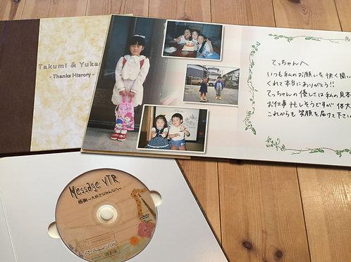 サンクスヒストリー          感謝のビデオアルバム     (20ページ)