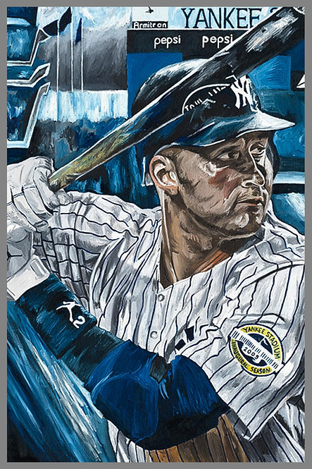 Derek Jeter New York Yankees Painting