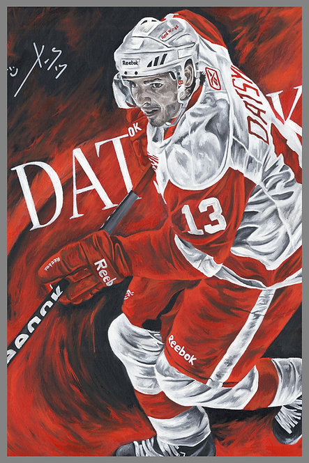 Pavel Datsyuk Detroit Red Wings Sports Art