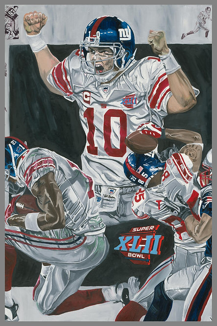 New York Giants Sports Painting