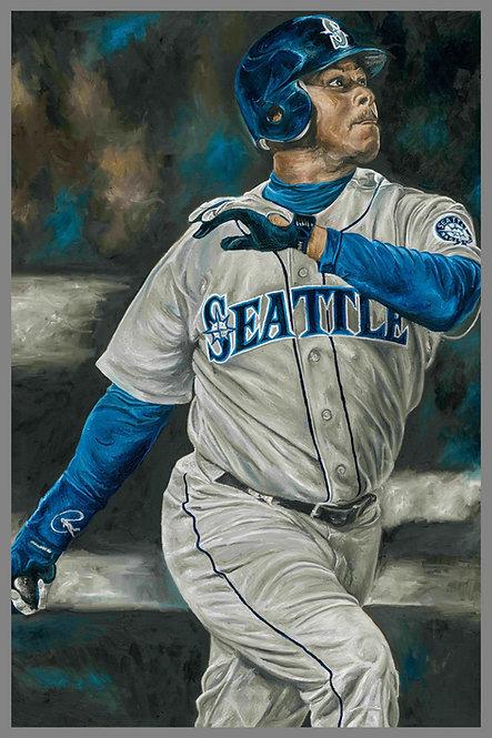 Ken Griffey Jr Seattle Mariners Painting