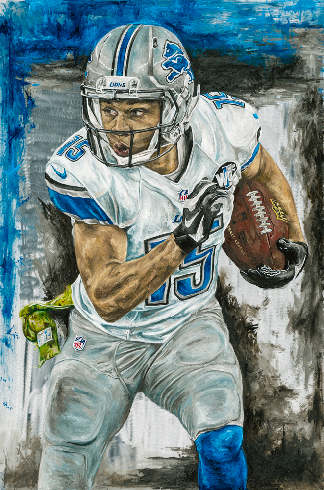 Golden Tate Original Painting
