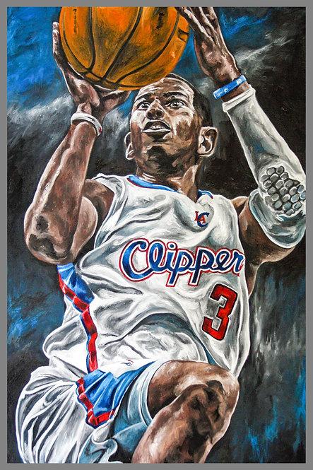 Chris Paul LA Clippers Painting