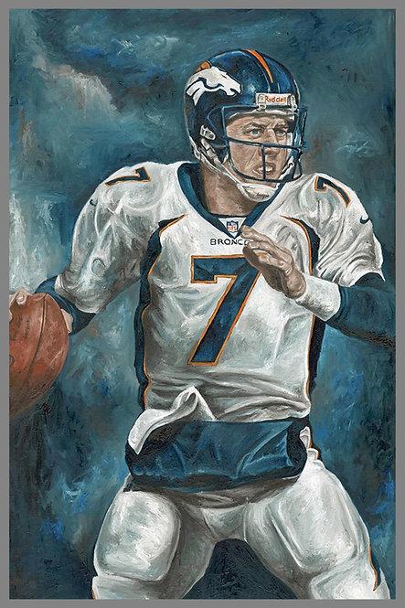 John Elway Denver Broncos Painting