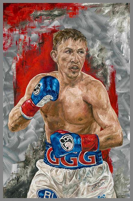 Gennady Golovkin Sports Art