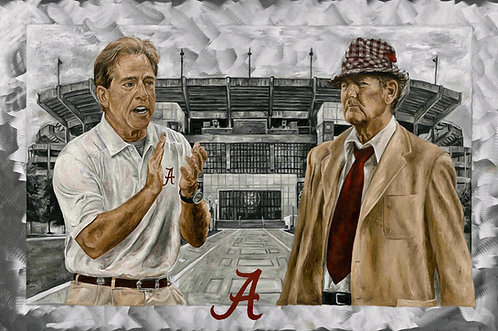 Alabama - Legacy Edition - Nick Saban & Bear Bryant