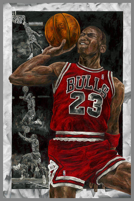 "Michael Jordan ""Defying Gravity"""