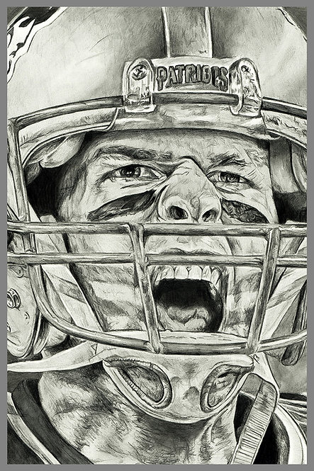 Tom Brady Patriots Fine Art