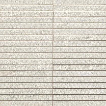 White Mosaico Bacchetta 30x30