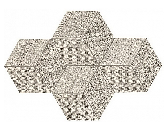 Cord Mosaico Esagono Dek  30x35