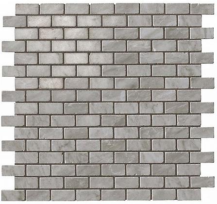 Bardiglio Grey Mosaico Burattato Lappato