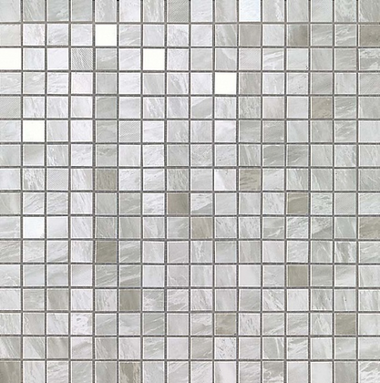 Bardiglio Grey Mosaico Lappato
