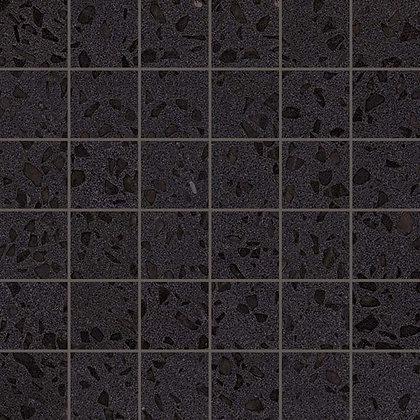 Terrazzo Black Mosaico Lappato Лаппатированная