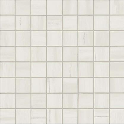 Bianco Dolomite Mosaico Matt Матовая