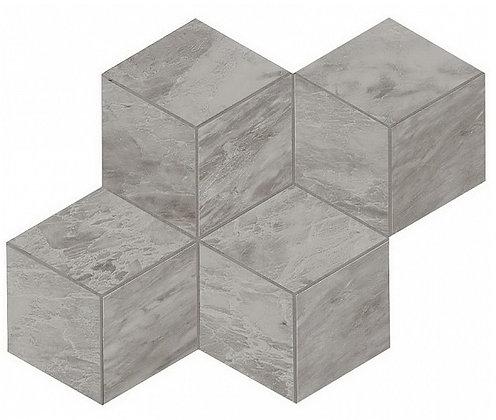 Bardiglio Grey Mosaico Esagono Lappato