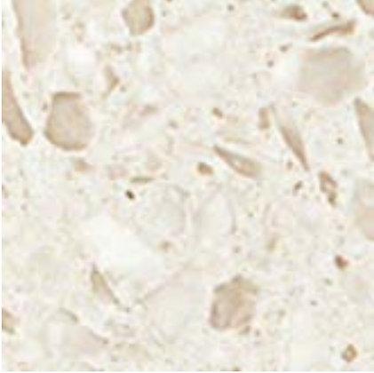 Terrazzo Cream Angolo Lapp Лаппатированная