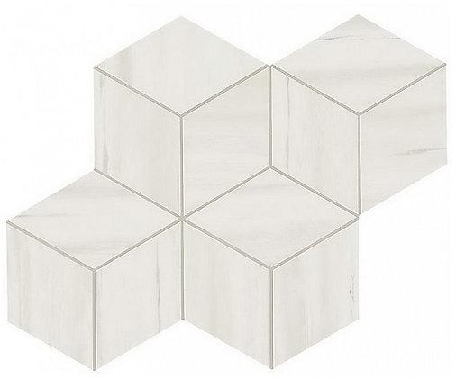 Bianco Dolomite Mosaico Esagono Lappato