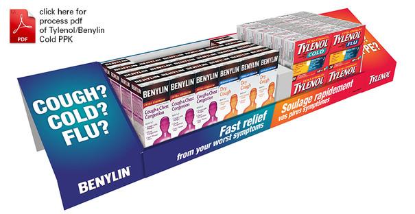 Tylenol/Benylin PPK for Shoppers Drug Mart