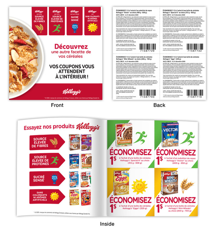 French Coupon Book
