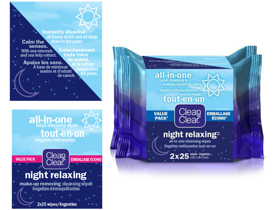 Clean & Clear Cleansing Wipes Value Pack