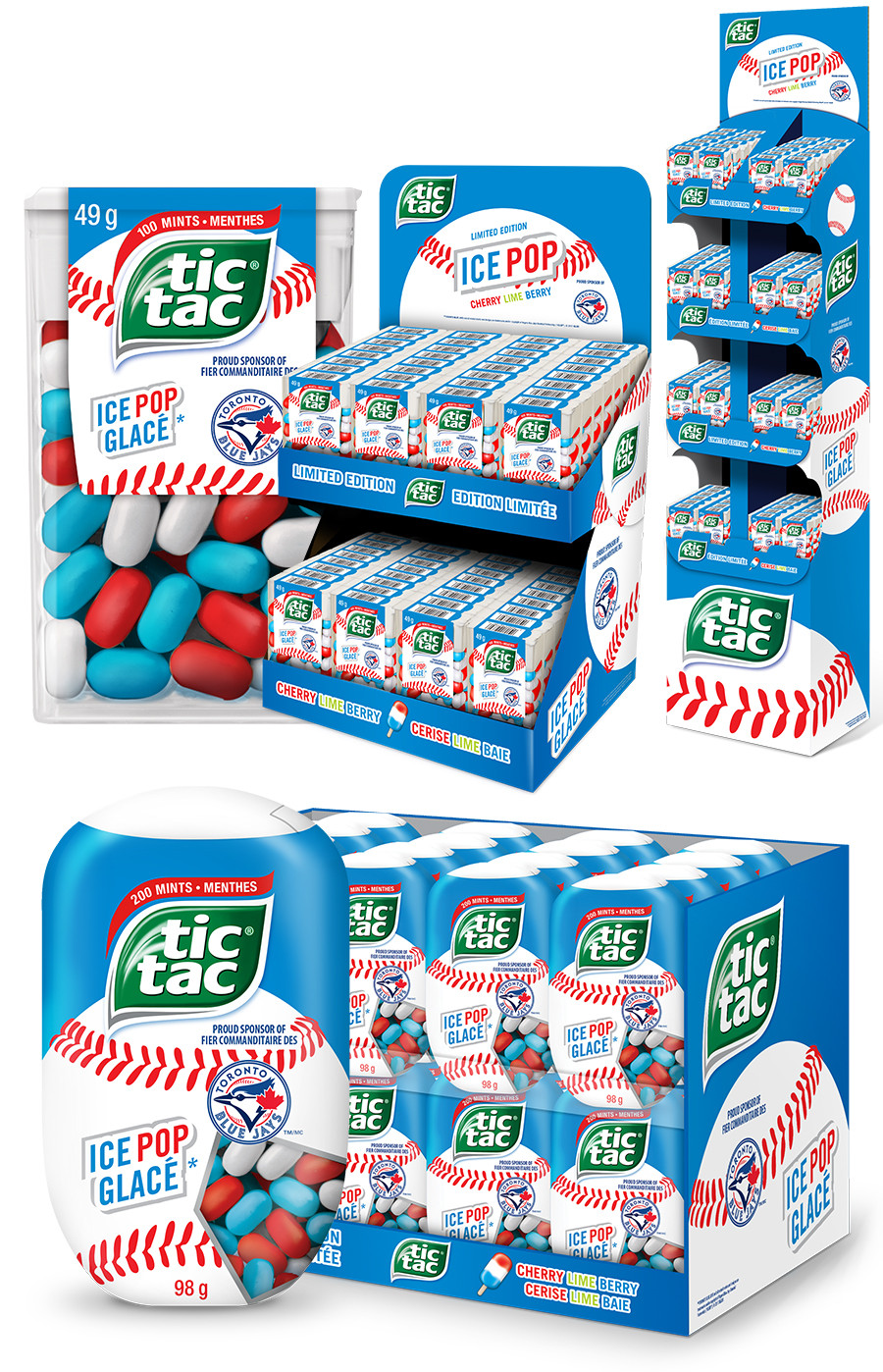 Tic Tac Blue Jays 2018
