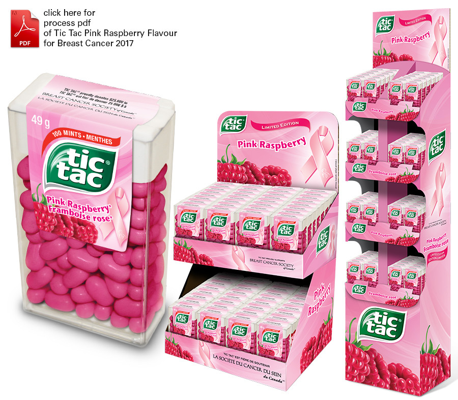 Tic Tac Breast Cancer Awareness 2017