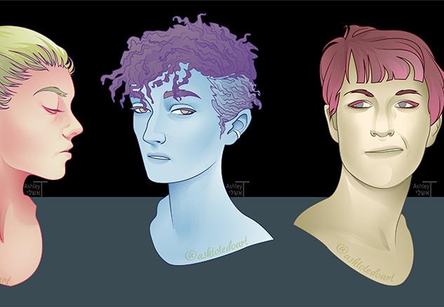 Stylised Portraits
