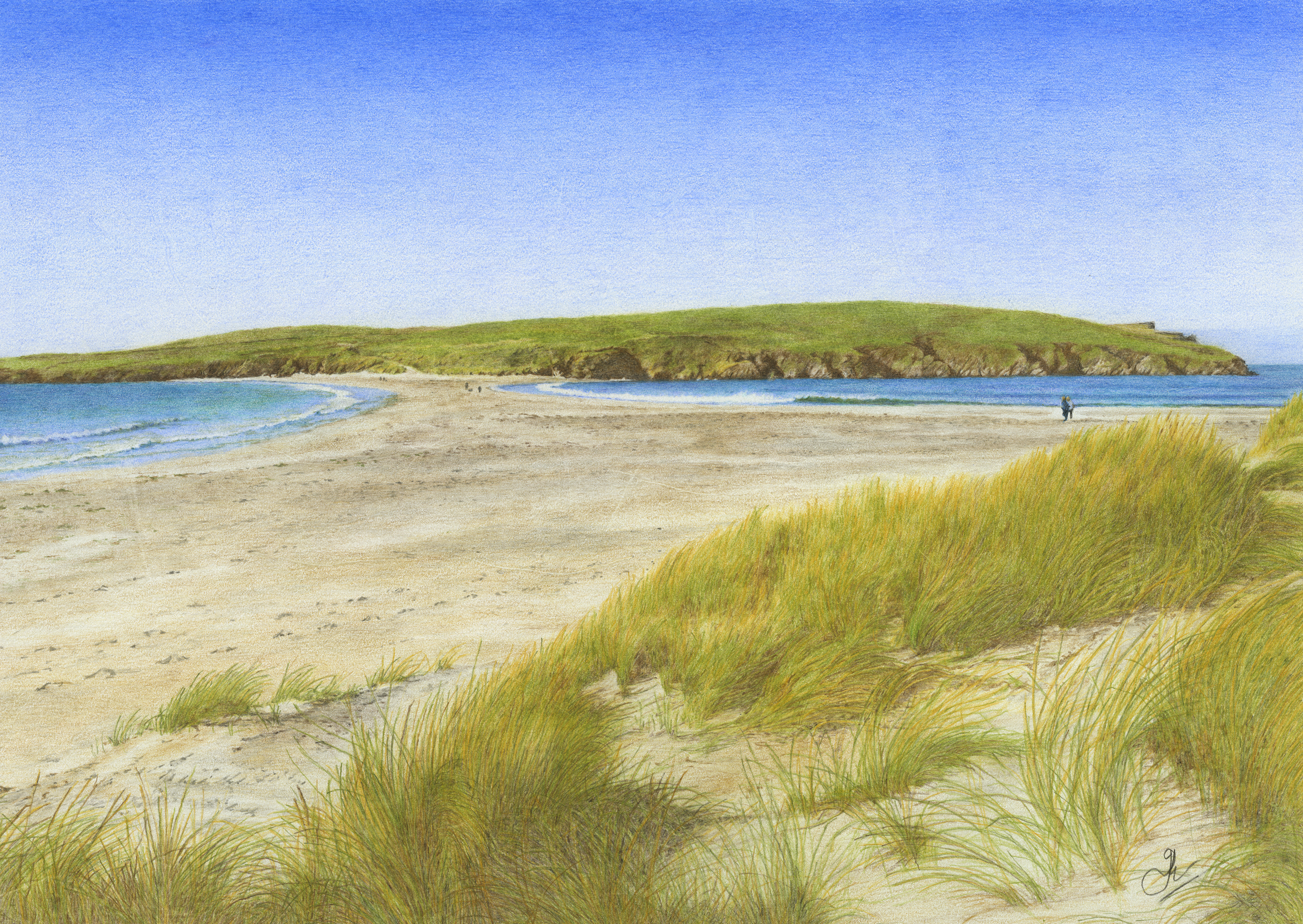 St Ninian's Isle & Tombolo: