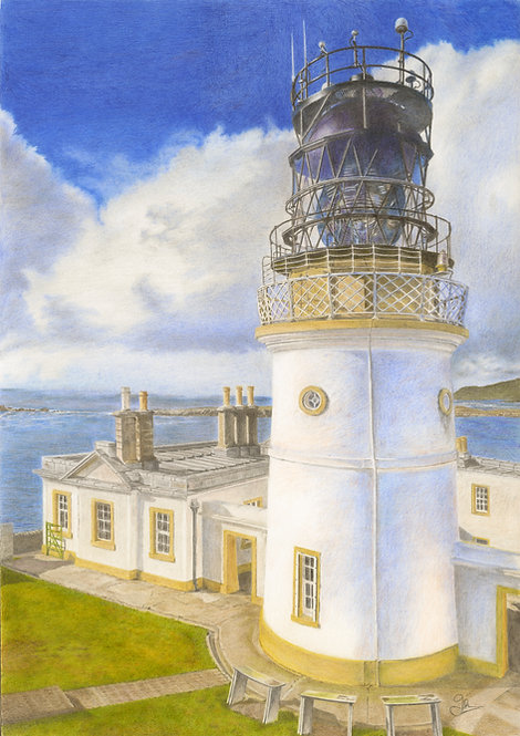 Sumburgh Head Lighthouse (Shetland Islands):
