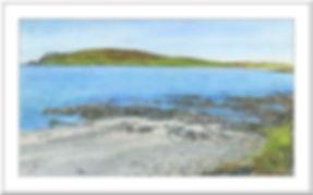 Scord Beach Shetland Isles