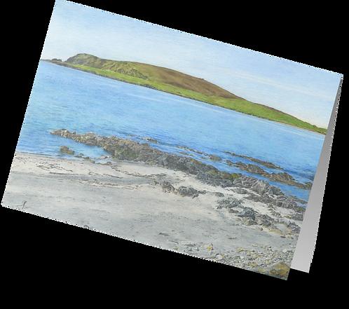 Shetland Beach Scene: 'Scord Beach'