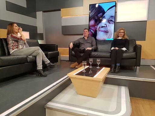 En el Programa Cambiando el aire, Canal 5.