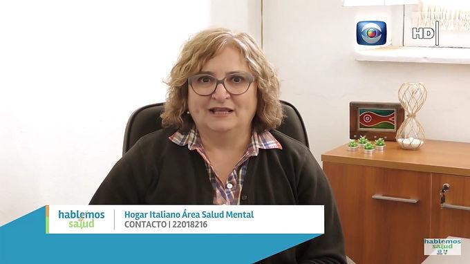 Lic. en Psicología Lilians Dotti en Programa Hablemos de Salud Canal 10.