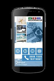 Cartão Interativo Digital IntroCard da Paulo Turismo.
