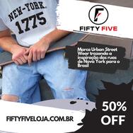 Peça Promocional Loja Fifty Five