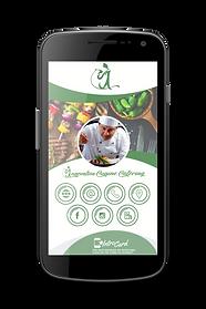 Cartão Interativo Digital IntroCard de Innovation Cuisine. Buffet, restaurante, gastronomia, cervejaria