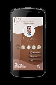 Cartâo Interativo Digital In0roCard de Alexandre Pinheiro odontologia