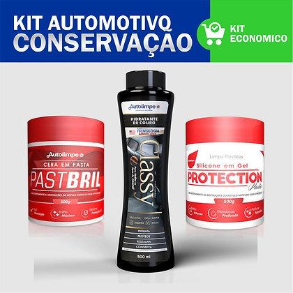 Kit Conservação Automotiva