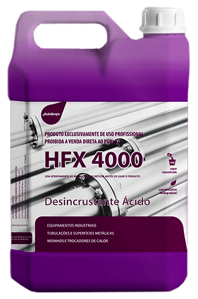 HFX 4000 - DESINCRUSTANTE ÁCIDO - 5 Litros