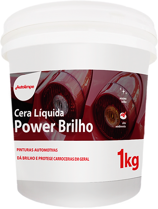 POWER BRILHO - CERA LÍQUIDA - 1Kg