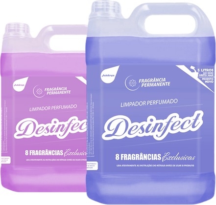 DESINFECT - LIMPADOR PERFUMADO