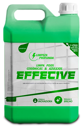 LIMPA PISOS - EFFECTIVE