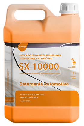 SX 10000 5 Lt. - SHAMPOO AUTOMOTIVO -