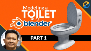 Modeling a toilet with Blender – Part 1