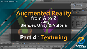 Augmented Reality from A to Z using Blender, Unity and Vuforia | part 4 : Texturing the body